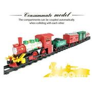 Classic Christmas Train with 54 x 25 Track Manual Model Train Set