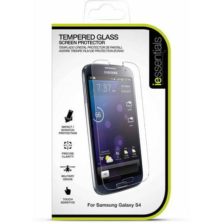 DigiPower Samsung Galaxy S4 Tempered Glass Screen (Samsung Galaxy S4 Tempered Glass Screen Protector)