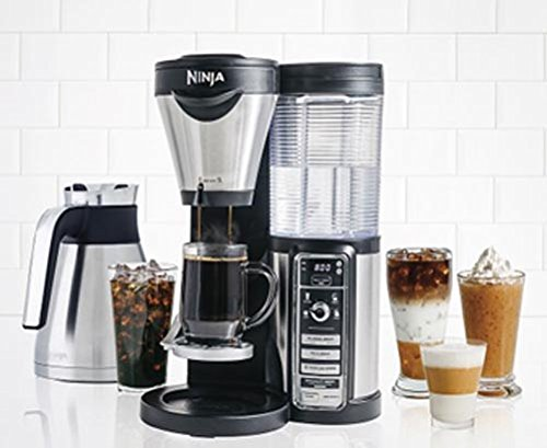 Ninja Coffee Bar with Auto IQ and Thermal Carafe 4 Brew Types CF085W