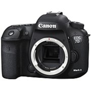 Canon Black EOS 7D Mark II Digital SLR Camera with 20.2 Megapixels (Body Only)