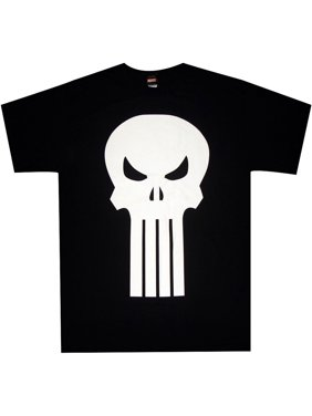 2a2967b18 Product Image Punisher Plain Jane Logo Skull Adult T-Shirt