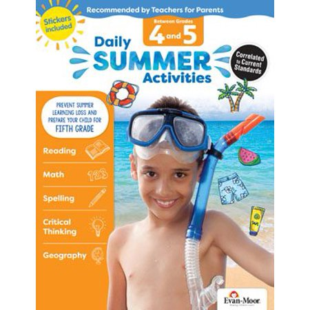 Daily Summer Activities : Moving from 4th Grade to 5th Grade, Grades 4-5 - Halloween Ideas 4th Grade