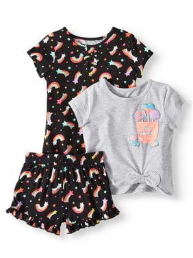 Girls' Clothing (newborn-5t) Mixed Items & Lots Glorious Toddler Girl 3-piece Lot Warm Clothing Sweatshirt Sweats Hoodie Size 12 Months