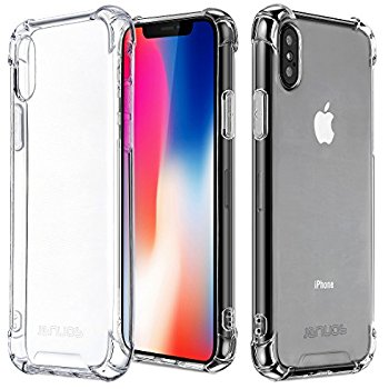 For Apple iPhone Premium Crystal Clear TPU Bumper Case For iPhone: X