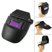 CHICIRIS HDMI Display,Pro Solar AUTO Darkening Welding Helmet Tig Mask Grinding Welder Protective Gear, LCD Display