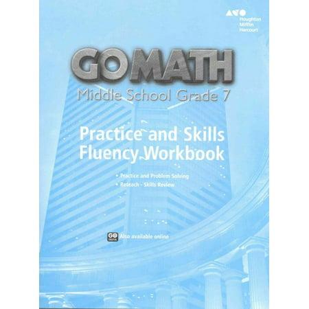 Go Math!, Middle School Grade 7