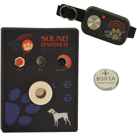 Upc 032868100806 Product Image For High Tech Pet Sound Barrier Indoor Sonic Electric Fence
