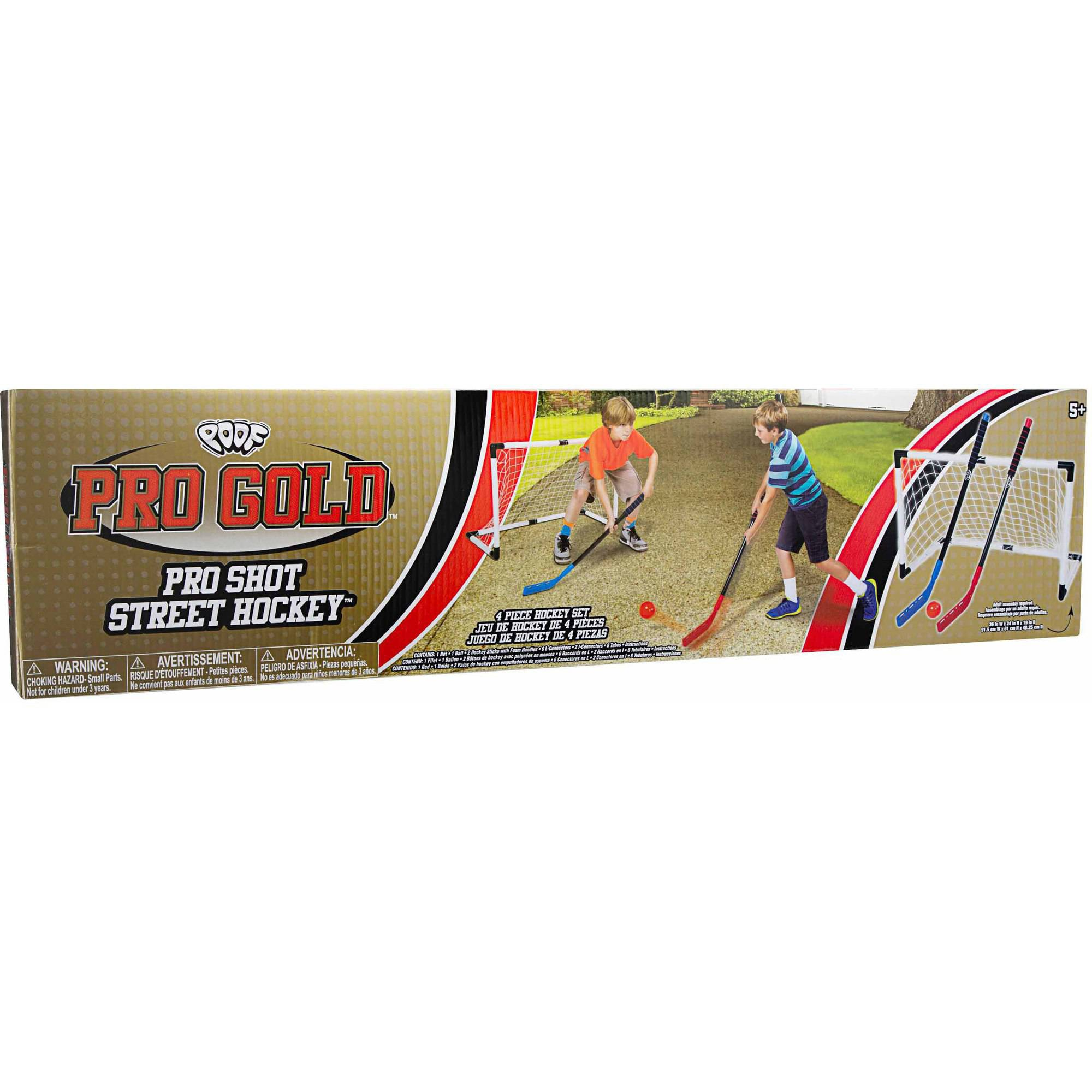 POOF Pro Gold Pro Shot Street Hockey by Alex Brands
