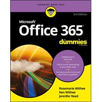 Office 365 for Dummies (Paperback)