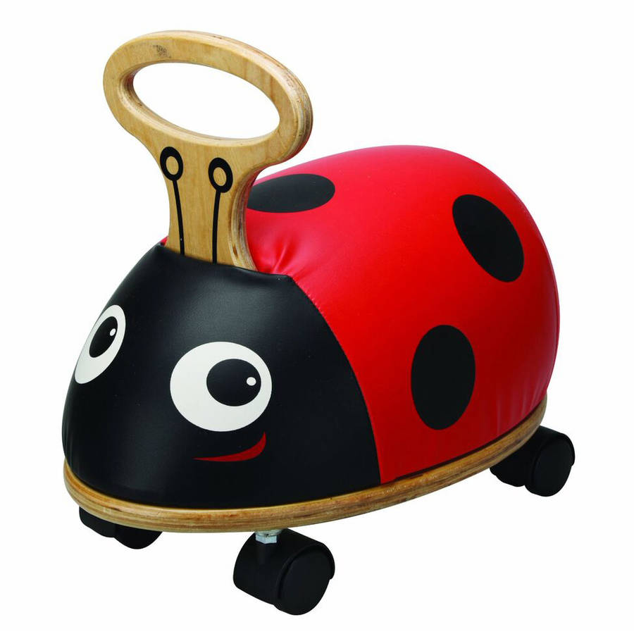 Kids Preferred Skipper Ride 'n' Roll Ladybug