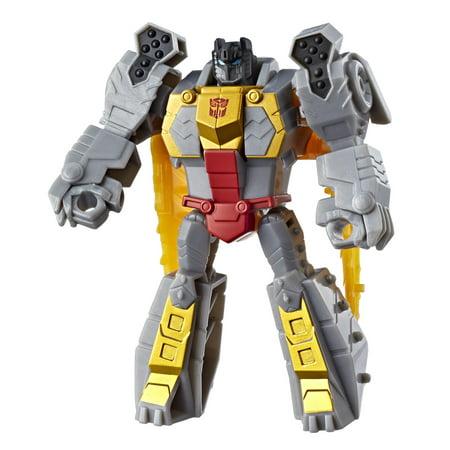 Transformers Cyberverse Scout Class Grimlock (Transformers Cyberverse Toys)