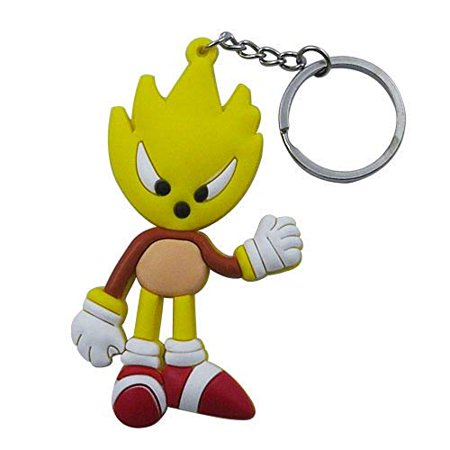 The Hedgehog Sonic Mode Key Ring Chain