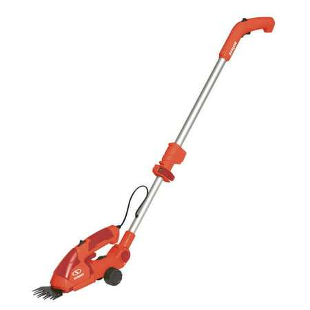 Sun Joe HJ605CC-RED 2-in-1 Cordless Telescoping Grass Trimmer | 7.2 Volt (Red)