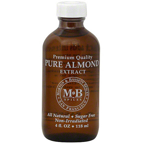 Morton & Bassett Spices Almond Extract, 4 oz (Pack of 3)