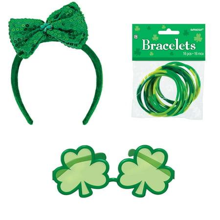 St. Patrick's Day Sunglasses and Headband - Headband Sunglasses
