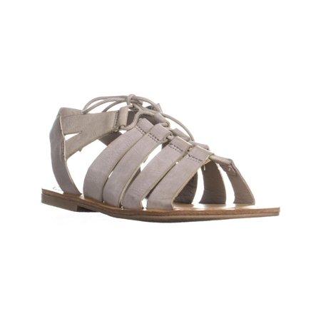 d7220fc741c3 Womens madden girl Oran Tie Up Gladiator Flat Sandals