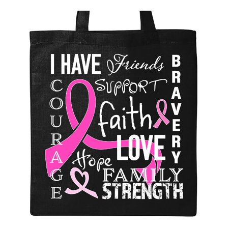 I Have...Inspirational Words for Survivors of Breast Cancer Tote Bag - Breast Cancer Bags