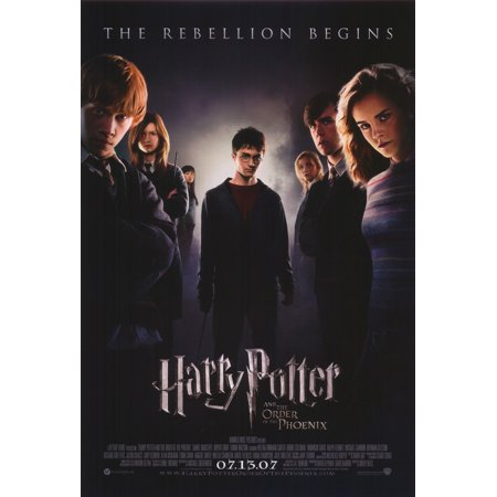 Harry Potter And The Order Of The Phoenix  2007  27X40 Movie Poster