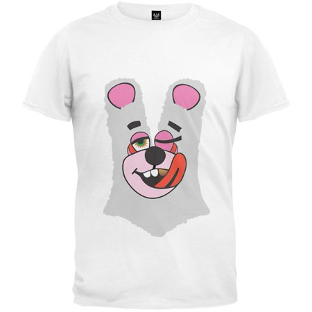 Twerk Bear White Costume T Shirt Inspired By Miley Cyrus  2013 Vmas