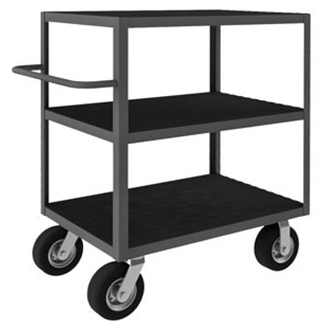 Durham RIC-243645-3-95 45 in. Rolling Instrument Cart, Gray - 1200 lbs