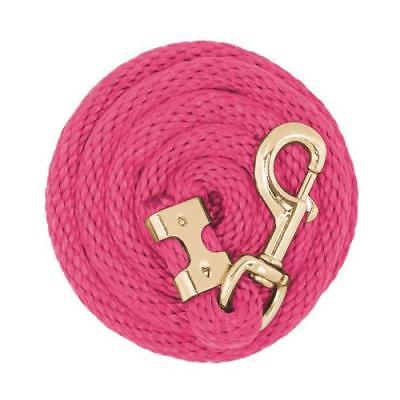 Weaver Leather Value Poly Lead Rope Diva Pink