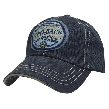 Laid-Back Men's Bullseye Hook & Holdem Hat Baseball Cap Sturgeon Fish LB9980JCS (Hat Fish)