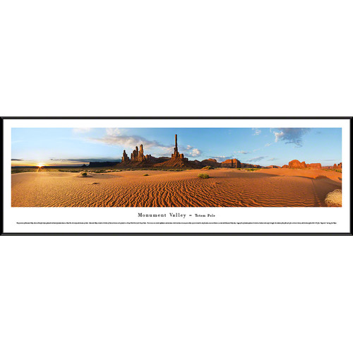 Blakeway Worldwide Panoramas, Inc Monument Valley - Totem Pole by Christopher Gjevre Framed Photographic Print