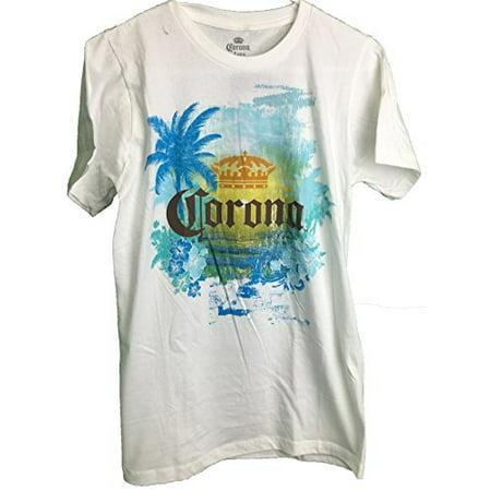Corona Men  39 S Tropical Paradise T Shirt  Small