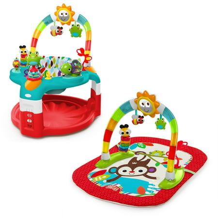 ce657e5e3d07 Bright Starts 2-in-1 Silly Sunburst Activity Gym   Saucer - Walmart.com