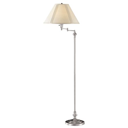 Cal Lighting BO-314 Swing Arm Floor Lamp](Rice Paper Lamp)
