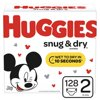 HUGGIES Snug & Dry Diapers, Size 2, 128 Count