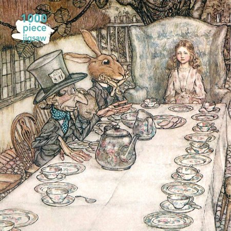 Alice in Wonderland Tea Party Jigsaw