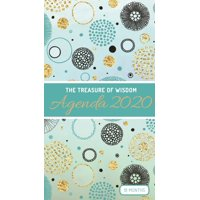 The Treasure of Wisdom - 2020 Pocket Planner - Teal and Gold Geometric Circles : An 18 Month Planner with Inspirational Bible Verses