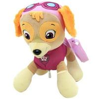 Plush Backpack - Paw Patrol - Skye Pink Soft Doll Bag New 659660