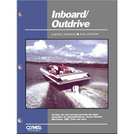 Inboard  Outdrive Service Manual   6Th Edition