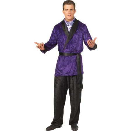Mens Playboy Purple Smoking (90's Pop Culture Costumes)
