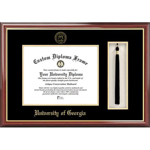 "University of Georgia 12"" x 15"" Tassel Box and Diploma Frame"
