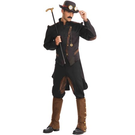 Steampunk Gentleman Men's Adult Halloween Costume - Gentleman Ghost Costume