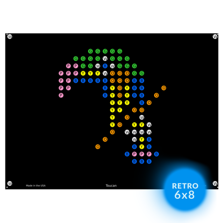 Lite Brite Refill (Zoo Animal, Lite Brite Refills, 12-Pack            - Not Compatible with Ultimate)