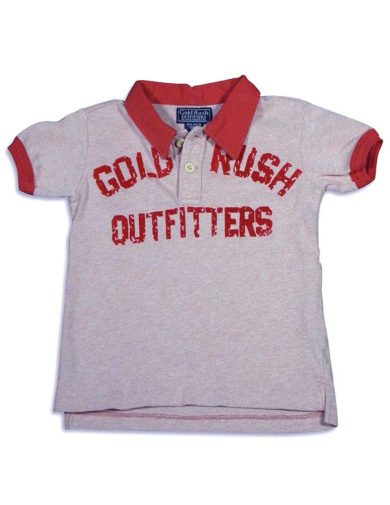 Gold Rush Outfitters - Little Girls Polo Shirt White / 6