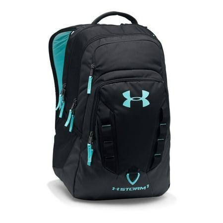 4bd0c6304438 Storm Recruit Backpack Black/Black/Blue Infinity