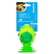 chase 'n chomp squeaker spaceship toy for pets