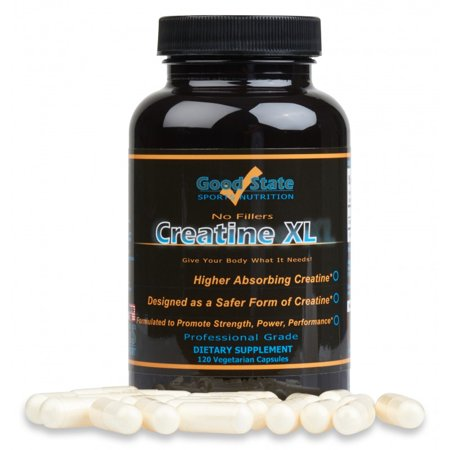 Good State - Creatine XL (650 mg) (120 capsules)
