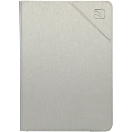 Tucano Minerale Folio Case for iPad 9.7in, Silver