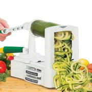Veggetti Pro Table Top Vegetable Spiralizer with Stainless Steel Blade