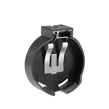 2pc CR/LIR2450 Batterie Bouton pièce Horizontal Noir Bo te Conteneurs - image 2 de 4