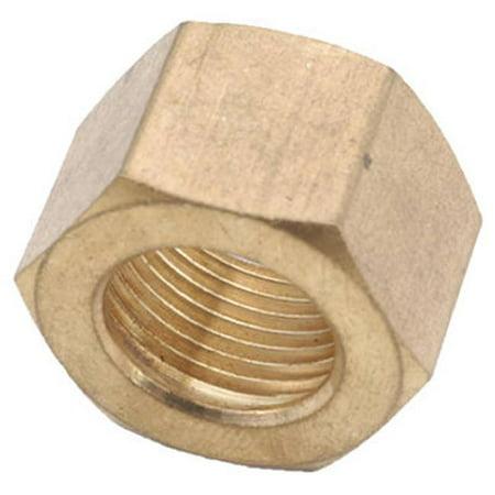 700061-10 .63 in. Brass Compression Nut