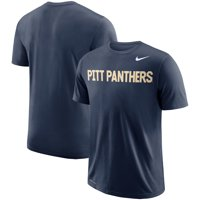Pitt Panthers Nike School Wordmark Performance T-Shirt - Navy