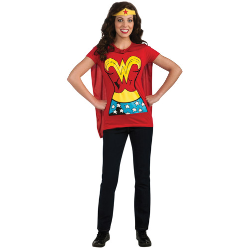 Wonderwoman Adult Halloween Shirt Costume