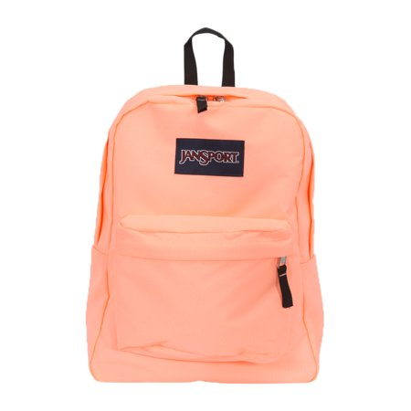 JanSport Superbreak Backpack - Coral Peaches - Walmart.com